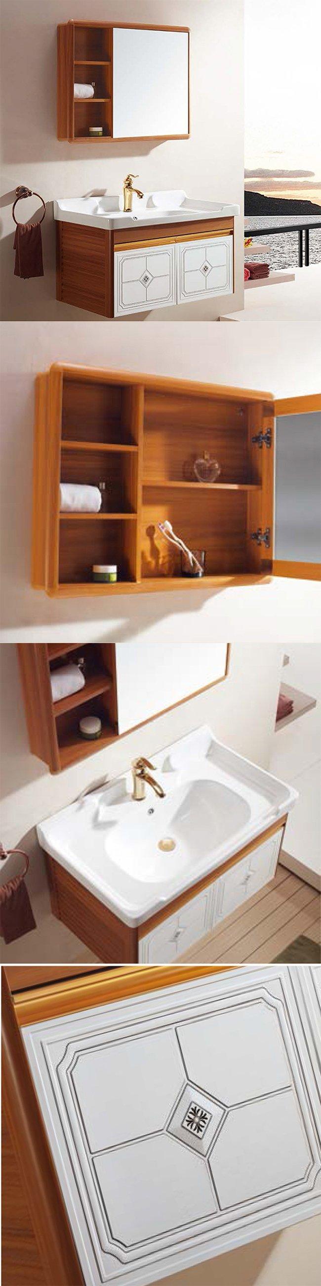 European Style Antique Bathroom Cabinet
