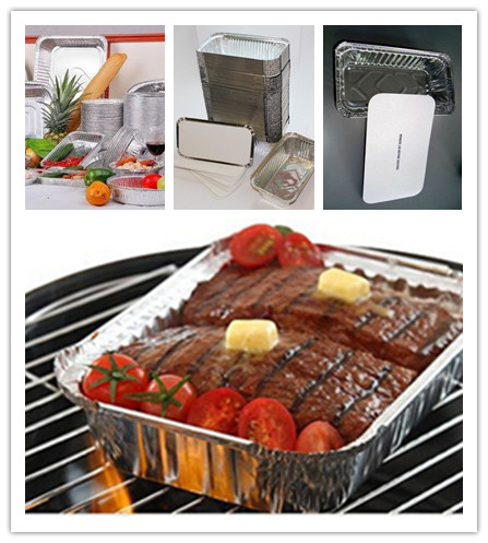 Food Grade Aluminum Barbecue Foil Trays
