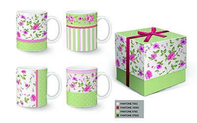 Solid Color Ceramic Coffee Mug