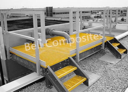 FRP Ladder and Platform Products Using Different Pultrusion Profiles