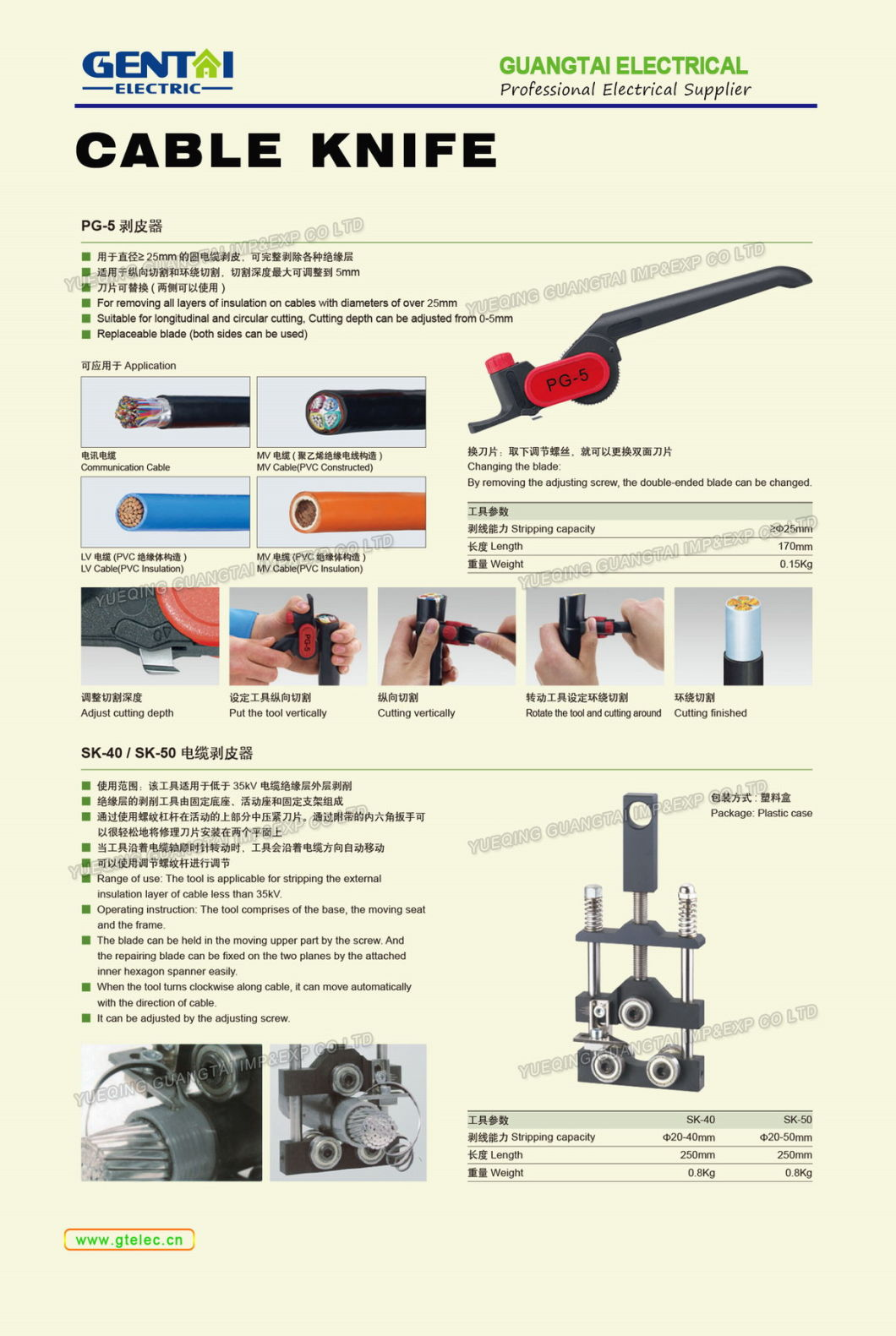 Electrical Cutter Stainless Steel Thin Sideling Blade Cutter Pliers