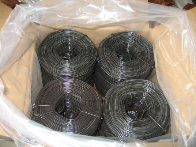 Small Coil Rebar Tie Wire /Black or HDG Tying Wire