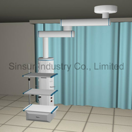 ISO/CE Approved Medical Gas Equipment Ceiling Medical Pendent