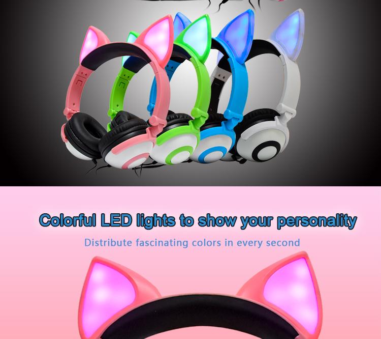 LED Headphones