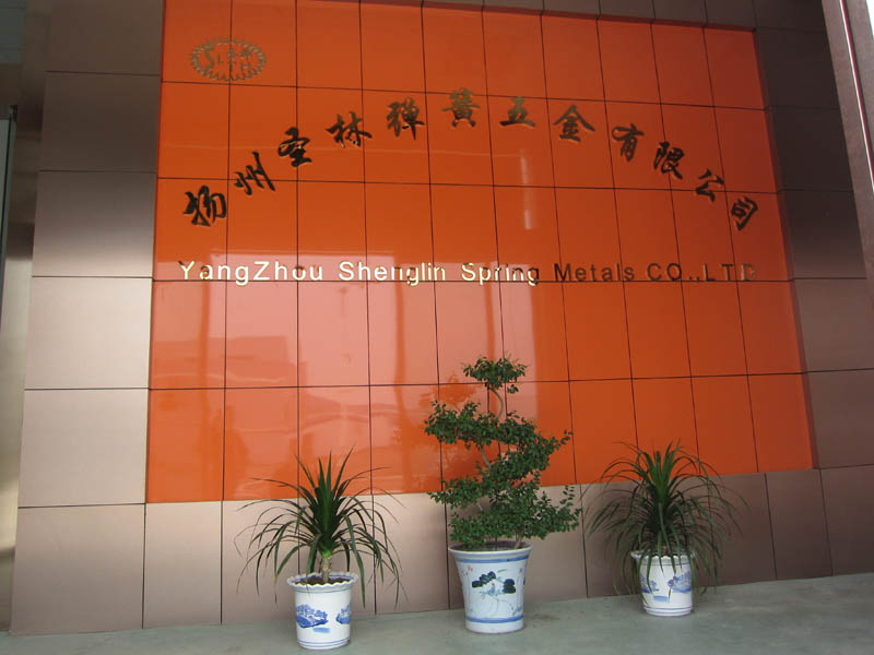 Slth-Ms-040 65mn Stainless Steel Metal Stamping Parts for Industry