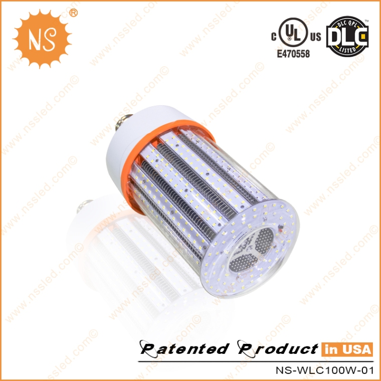 UL Dlc AC100-277V 6000k E39 E40 15000lm 100W LED High Bay Light