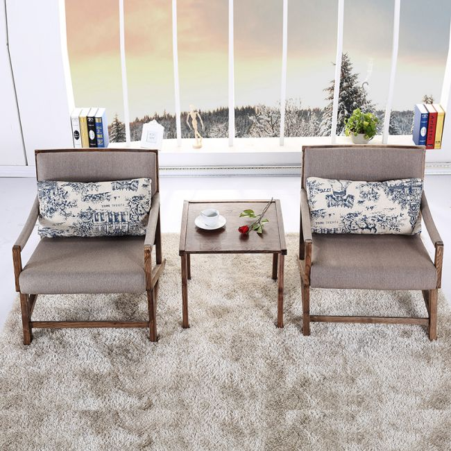 PU Seat Dining Chair in Sponge Used Dining Room Furniture for Sale