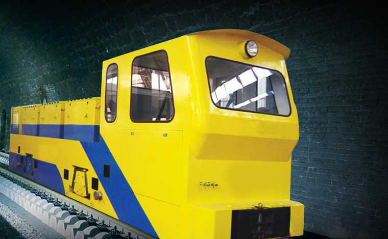 Mining Locomotive Jmy600 Diesel Hydraulic Locomotive