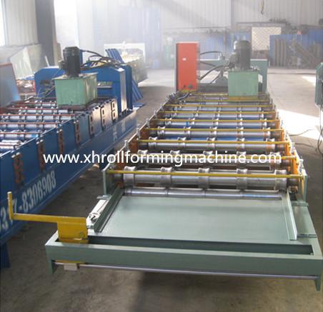 Make Roof Panel Forming Machine