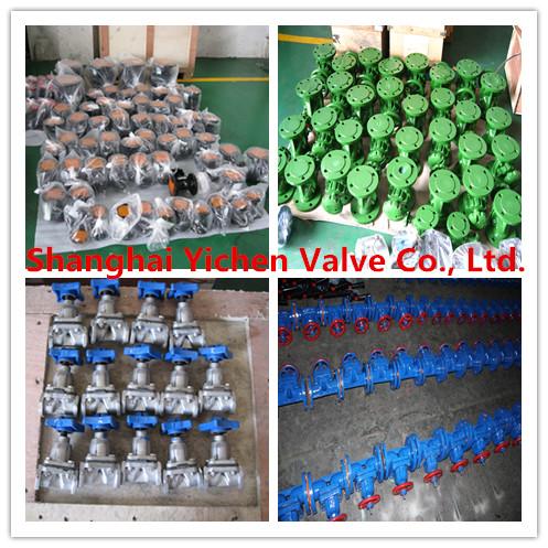 Weir Diaphragm Valve (G41J)