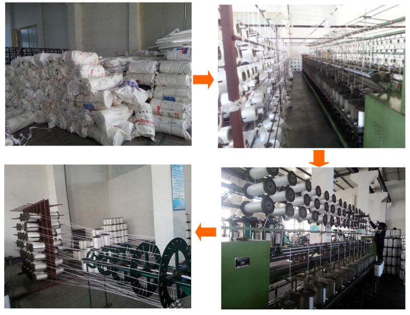 8-Strand Chemical Fiber Ropes Mooring Rope Polypropylene, Polyester Mixed, Nylon Rope