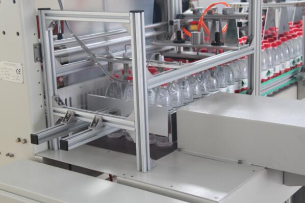 St6040al Automatic Sleeve Bottles Shrink Wrapping Machine