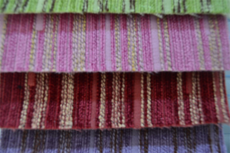 Plain Chenille Fabric for Sofa Packing in Rolls (EDM0219)
