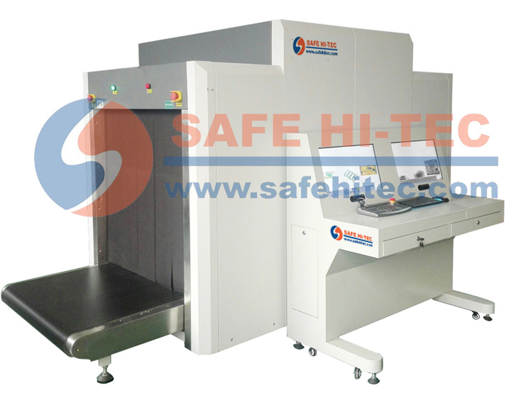 Dual View Baggage & Parcel X-ray Scanner for Screening at Airport, Ports SA100100D