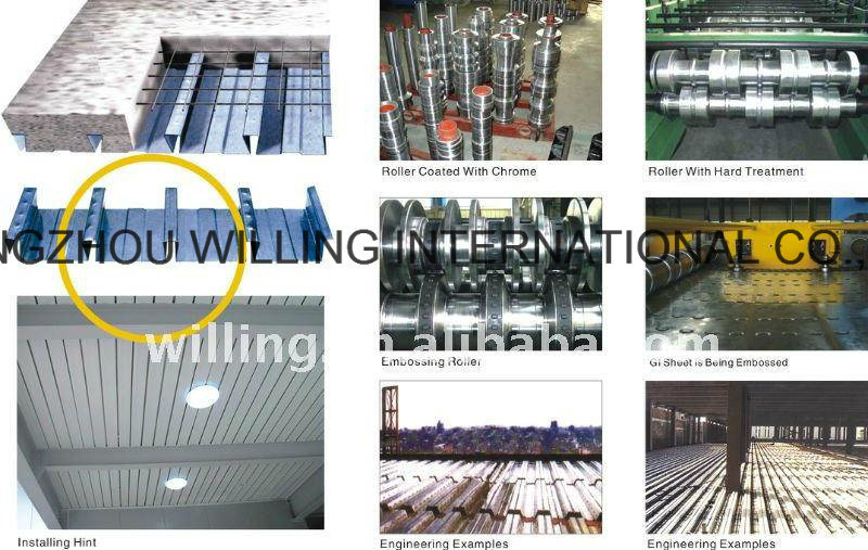 Metal Corrugated Wall Sheet Roll Forming Machine