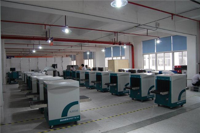 Movable Full Body Scanning Metal Detector Hospital Use Walk Through Metal Detector