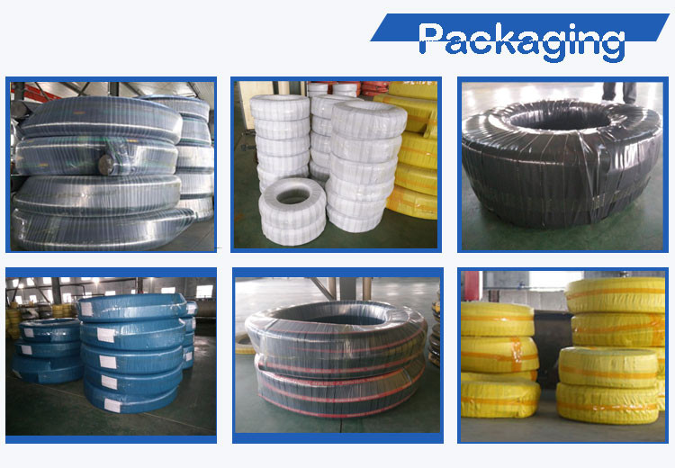 Flexible High Pressure Rubber Water Suction Hose Pipe