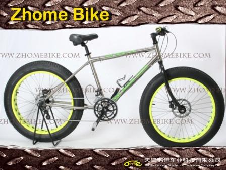 Bicycle Parts/Titanium Bicycle Frame and Fork/MTB Bike Mountain Bike 3al2.5V 6al4V Zh15TBB01