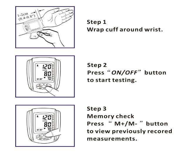 Homecare Blood Pressure Monitor, Sphygmomanometer