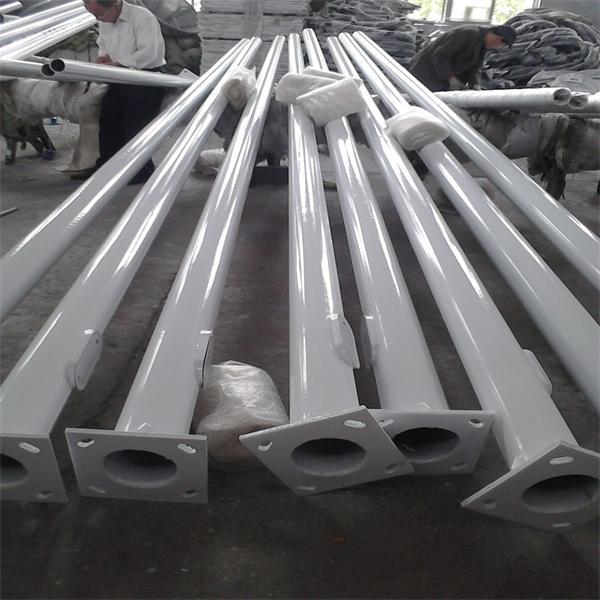 9m Steel Lighting Pole--Galvanized