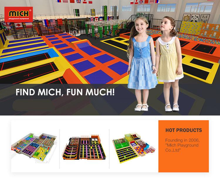 Fire Proof Colorful Polyurethane Cube Foam Pit Blocks for Children's Large Indoor Trampoline Park