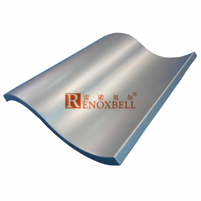 Curved Aluminium Panels for Curtain Wall System Use
