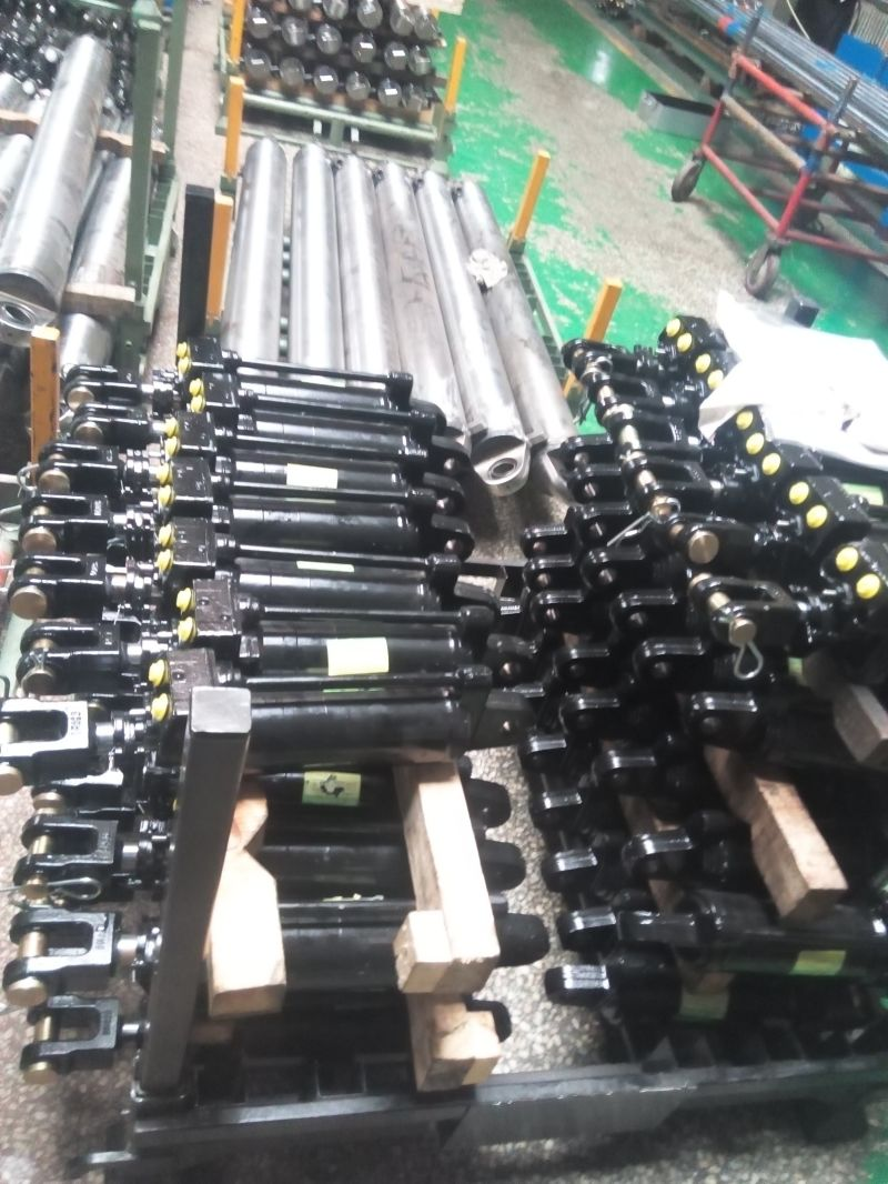 Single-Acting Telescopic Cylinder Type Hydraulic Cylinder for Agricultural Machinery Cylinder