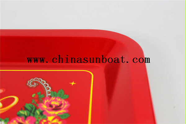 Enamel Food Tray Wedding Tray
