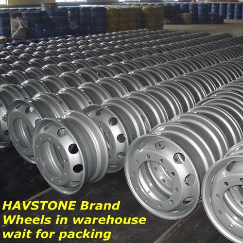 Truck Tyres Steel Wheels