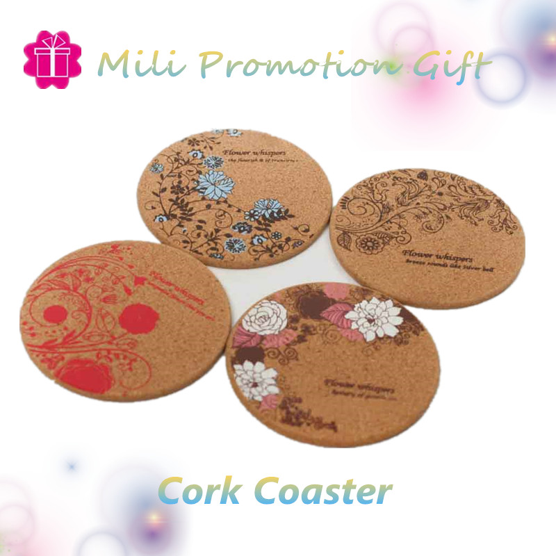 Art Ethnic Style Coffee Cork Coaster Cup Mat Pad Cup Holder