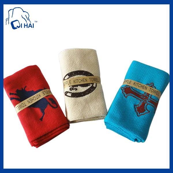 100% Cotton Velour Tea Towel (QHV38872)