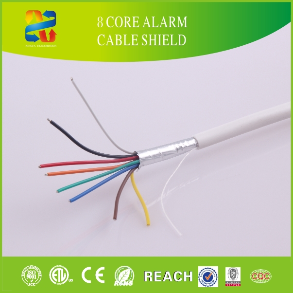 Made in China High Quality Low Price Shielded 8 Core Alarm Cable