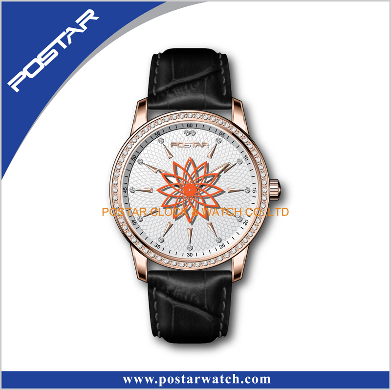 Hot Stainless Steel Fashion Man and Lady Quartz Wrist Watch