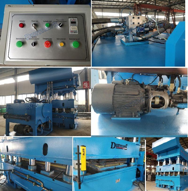 3000t Heavy Duty Steel Metal Door Panel Used Hydraulic Press Embossing Machine