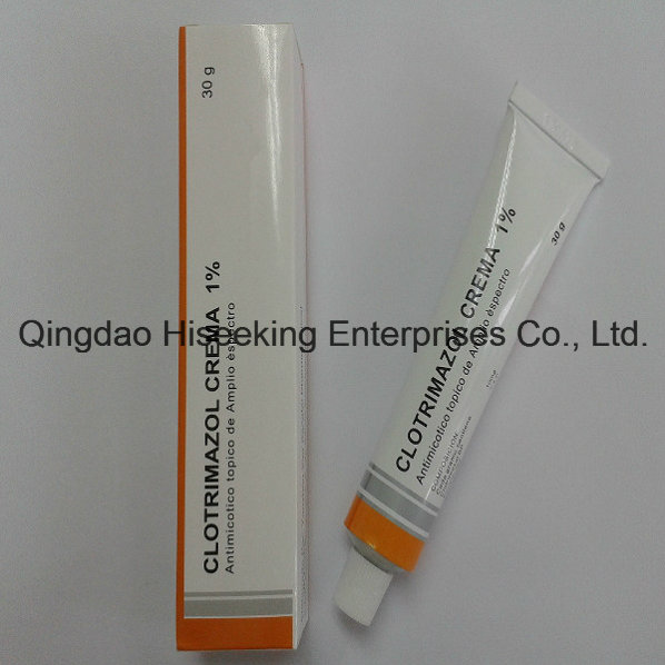GMP Factory High Quality Product Antifungal Cream Clotrimazole