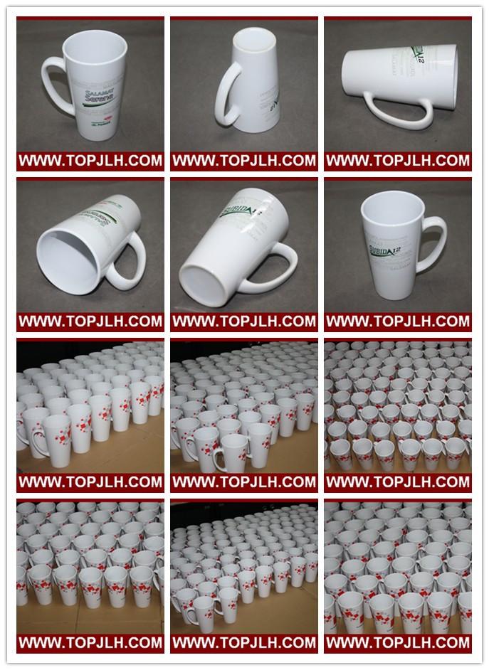 Special Ceramic Coffee Mug 17oz White Cone Cup