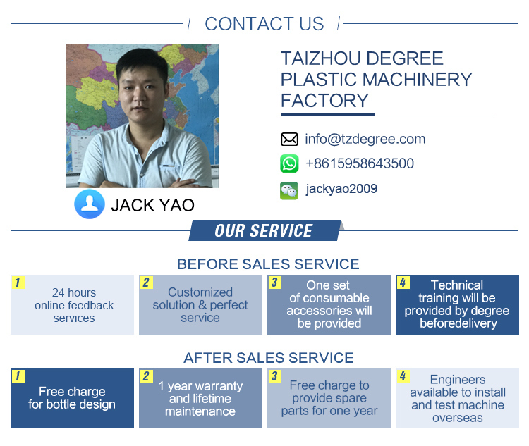 Ce Approved Full Automatic Blow Molding Machine for Pet Bottle