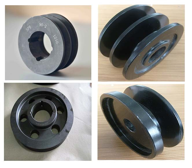 Surface Treatment Phosphate Cast Iron Belt Pulley Spz 400