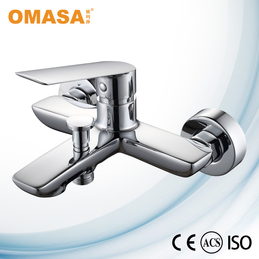 Morden Design Brass Faucet Singel Hande Bath Show Mixer Bathroom