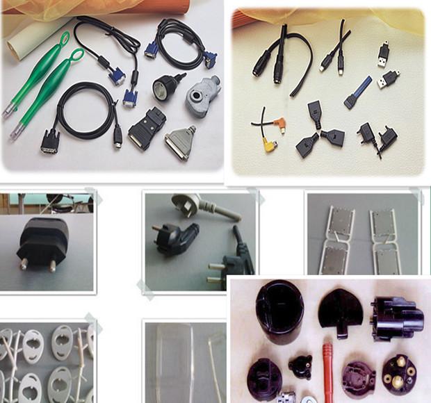 PVC Plug Injection Molding Mould Machine USB Cable
