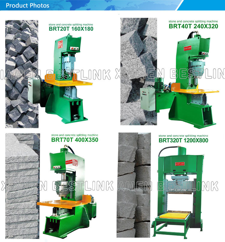 Hydraulic Granite Paving Wall Stone Tile Cutting Machine