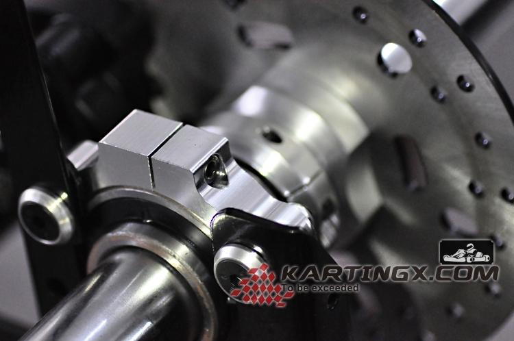 3mm Vehicle Frame Adult Pedal Go Kart with CNC Aluminum Hubs