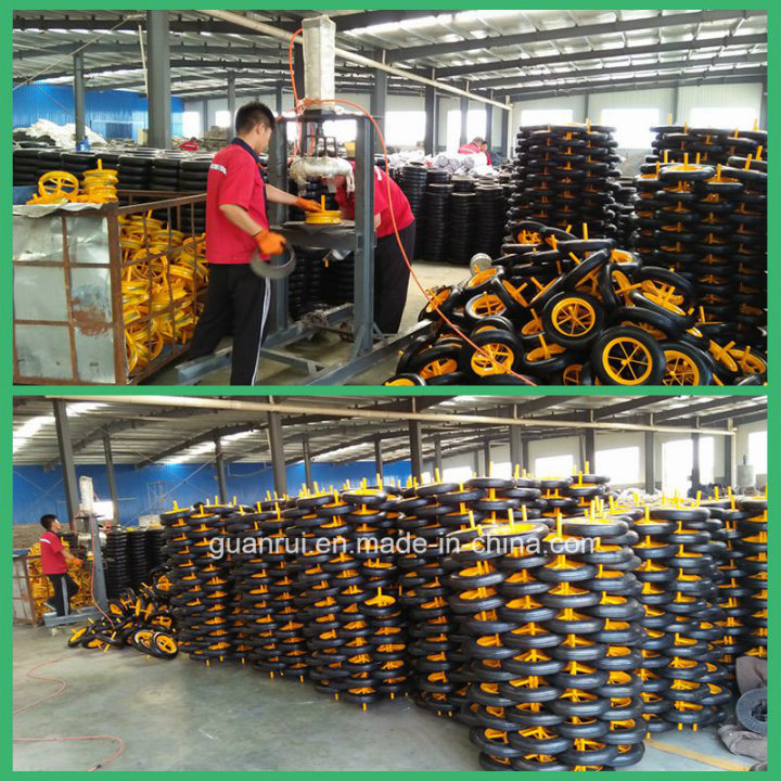 14 Inch Solid Rubber Powder Wheel for WB6400