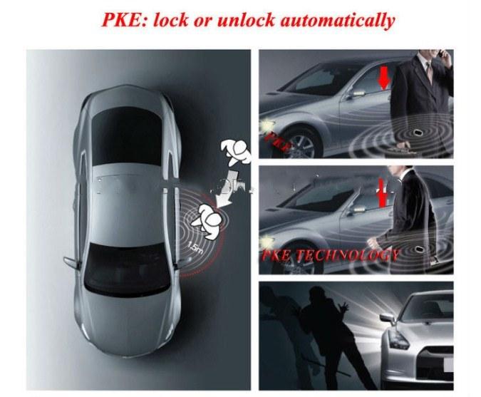 Smart Car Alarm on Sale Pke, Anti-Hijacking and Anti-Thief