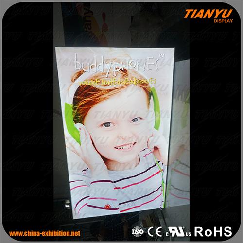 Rectangle Frameless Advertising Fabric LED Light Box