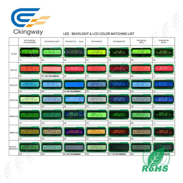Customized Monochrome Stn LCD/LCM