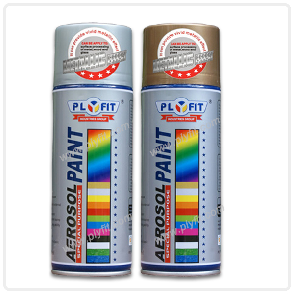 Popular Metallic 18k Gold Aerosol Spray Paint