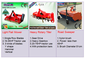 2016 New Lefa Rear Loader for Mini Tractors Approved by Ce