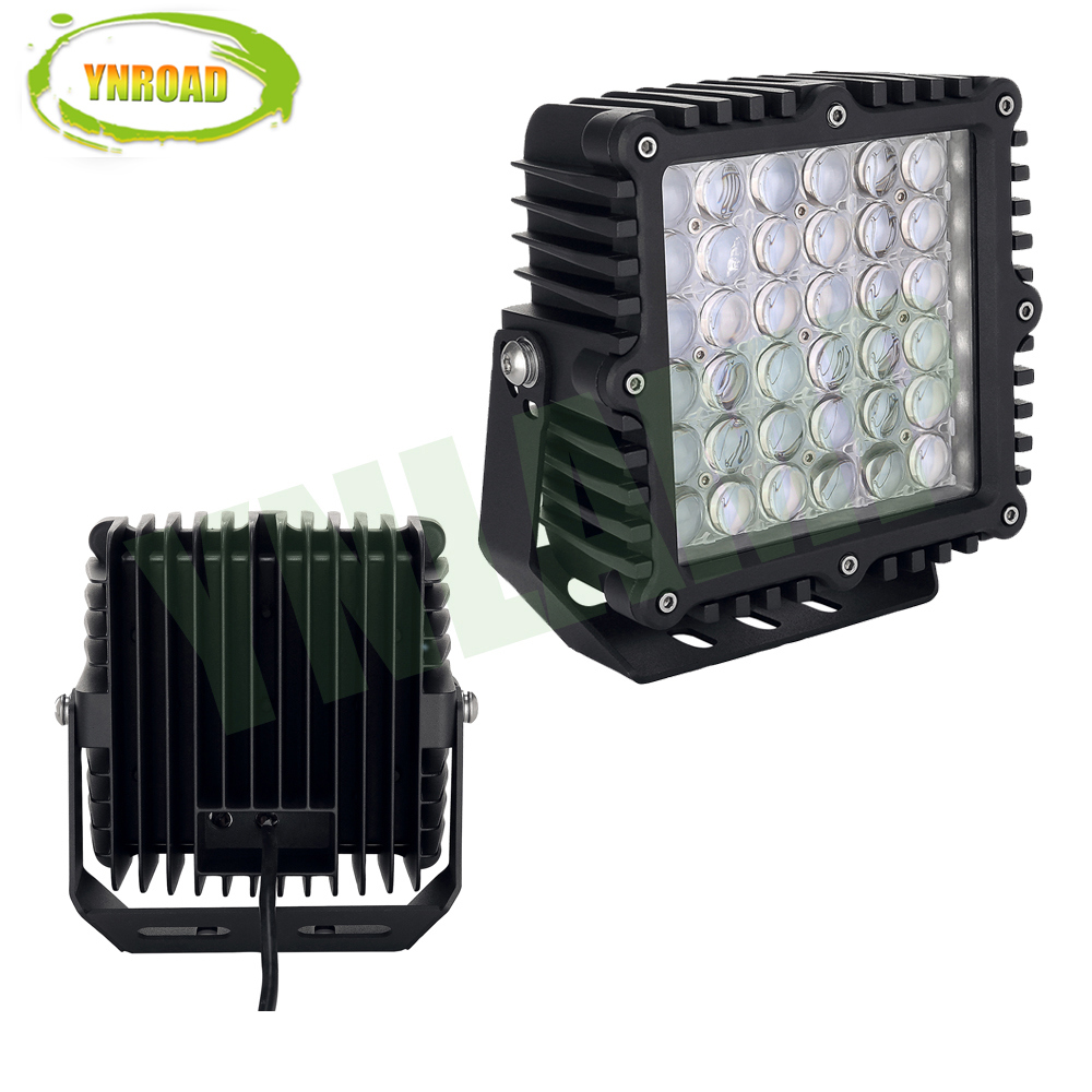 Square 9inch CREE Spot Flood 360W 4D LED Work Light