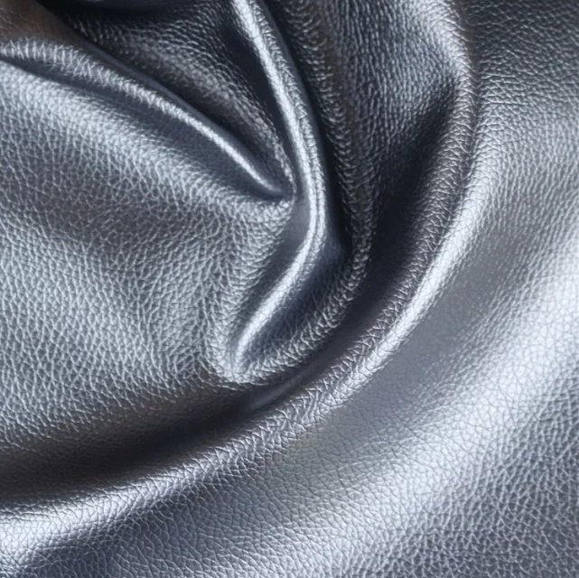 Litchi Pattern PVC Sofa Leather Synthetic Leather for Furniture (806#)
